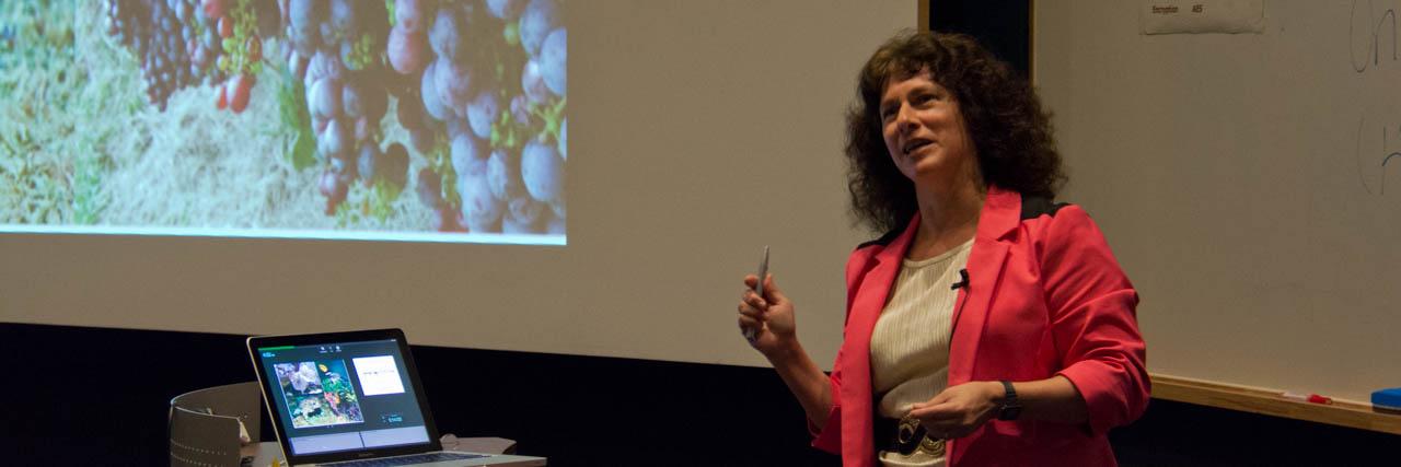 Biologist Dr. Camille Parmesan