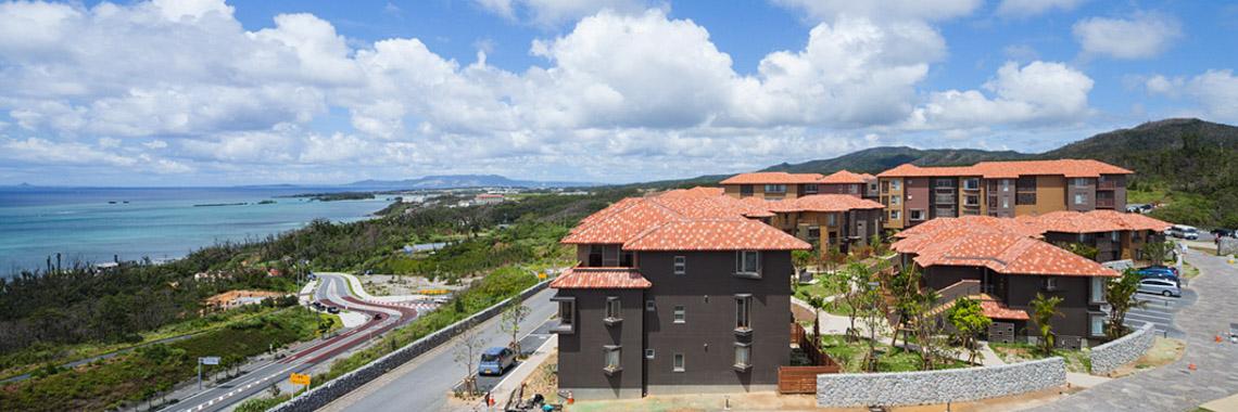 Photo of OIST housing