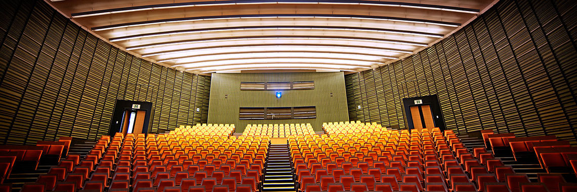 Photo of the OIST Auditorium