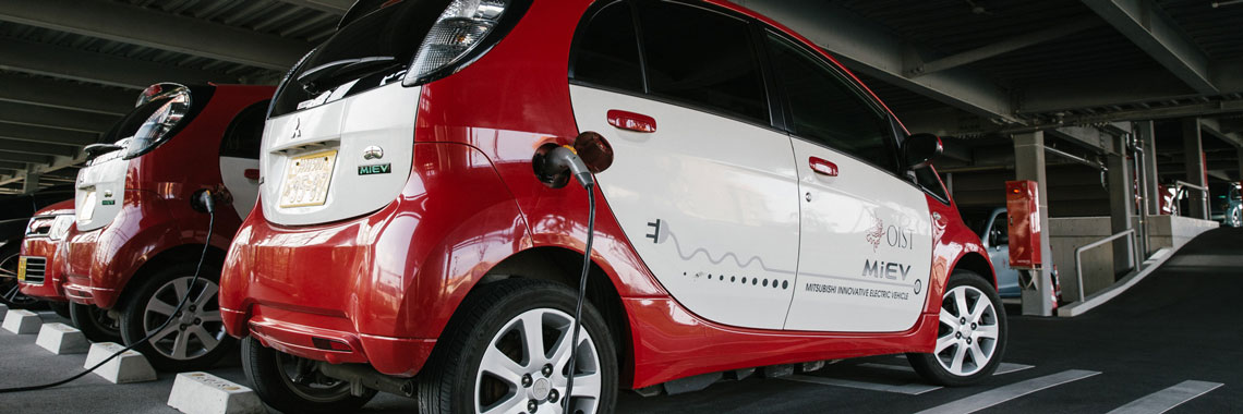 Photo of OIST electric cars