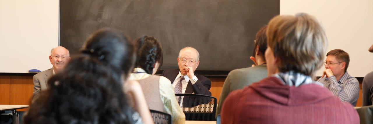 Nobel Laureate Dr. Ryoji Noyori (2001 Nobel Prize in Chemistry)